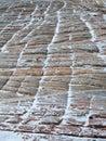 Checkerboard Mesa, Snow Patterns