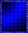 Checkered Background Frame Illustration Royalty Free Stock Photo