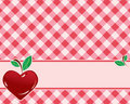 Checkered background in red tones Royalty Free Stock Photos