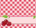 Checkered background in red tones Stock Images