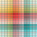 Checkered background seamless pattern colorful Royalty Free Stock Image