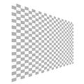 Checkered background a standard two dimensional illustrative Royalty Free Stock Photo