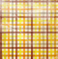 Checkered background with white stains Stock Photography