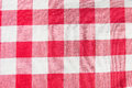 Checkered cloth texture close up Royalty Free Stock Photography
