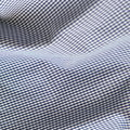 Checkered fabric close up. Blue Stock Photography