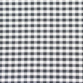 Checkered fabric closeup tablecloth texture black and white Royalty Free Stock Photos