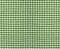 Checkered fabric texture textile material closeup Stock Photography
