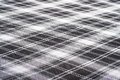 Checkered fabrick background the black and white fabric Royalty Free Stock Images