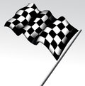 Checkered flag vector illustration background Royalty Free Stock Image