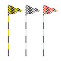 Checkered flags Royalty Free Stock Photography