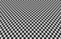 Checkered floor Royalty Free Stock Photo