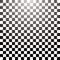 Checkered grid tile Stock Photo