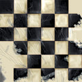 Checkered Grunge Background Stock Images
