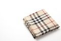 Checkered handkerchief this is a photograph of a Stock Photography