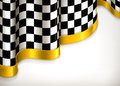 Checkered invitation background Royalty Free Stock Image