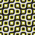 Checkered Organic Pattern Stock Image