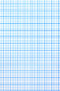 Checkered paper sheet Royalty Free Stock Photo