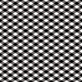 Checkered Pattern_Black and White Stock Images