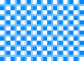 Checkered pattern blue color
