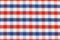 Checkered piece of cloth Royalty Free Stock Image