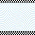 Checkered racing theme background Stock Photography