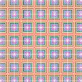 Checkered Retro Pop Art Color Squares Geometric Pattern Royalty Free Stock Photo