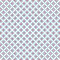 Checkered Retro Pop Art Colors Squares Geometric Pattern Royalty Free Stock Photo