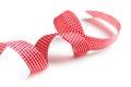 Checkered ribbon Royalty Free Stock Photos
