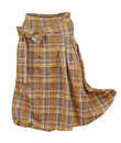 Checkered skirt Royalty Free Stock Photo