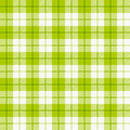 Checkered tablecloth Royalty Free Stock Photos