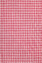 Checkered tablecloth texture background close up of Royalty Free Stock Images