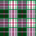 Checkered tartan pattern Stock Image