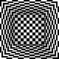 Checkered texture box. Abstract background. Vector illustration. Royalty Free Stock Photo