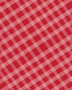 Checkered texture red abstract background Royalty Free Stock Photography