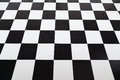 Checkered tile floor styled with selective focus Royalty Free Stock Images