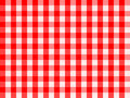 Checkered Traditional Red Royalty Free Stock Image