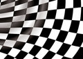 Checkered tunnel Stock Photo