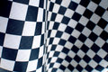 Checkered Welle Lizenzfreies Stockfoto