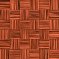 Checkered Wooden Floor Royalty Free Stock Images