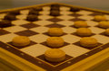 Checkers a funny role game i used to play Royalty Free Stock Photo