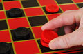 Checkers - King Me Stock Photography