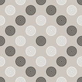 Checkers pattern. Seamless vector game background with black and