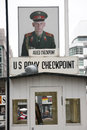 Checkpoint charlie Royalty Free Stock Images