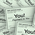 Checks Money Payment to You Income Paychecks Royalty Free Stock Photo