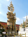 Chedi statue in royal palace Stock Photos
