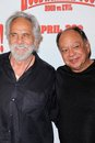 Cheech marin cheech marin tommy chong and at the hoodwinked too world premiere pacific theaters at the grove los angeles ca Stock Image