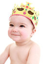 Cheeky baby Stock Image