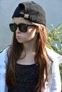 Cheeky teenage girl Royalty Free Stock Photo