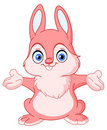 Cheerful bunny Stock Images