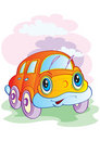 The cheerful car Royalty Free Stock Photography